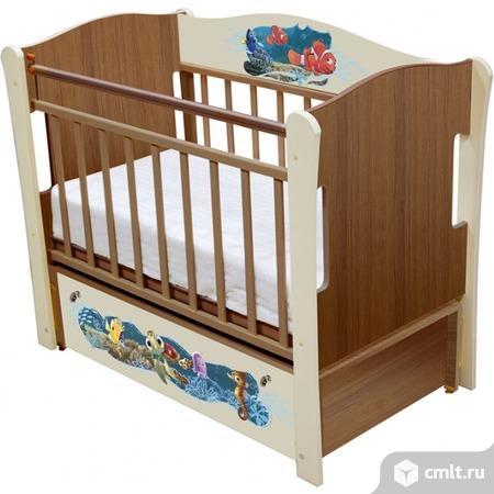 Кровать детская немо