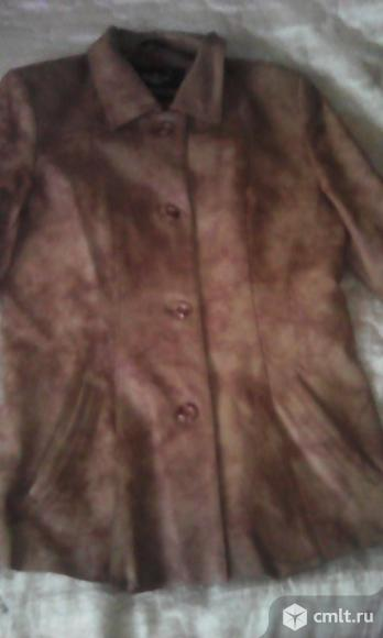 Куртка кожаная Luosaiwang. Фото 1.