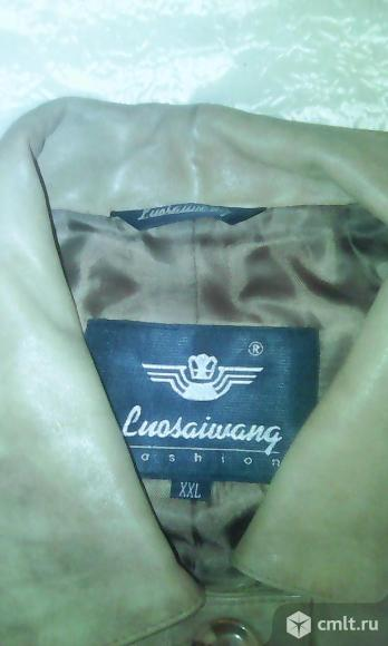 Куртка кожаная Luosaiwang. Фото 2.