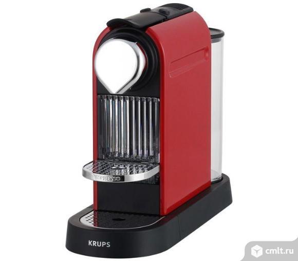 кофемашина капсульного типа Nespresso Krups CITIZ XN720510