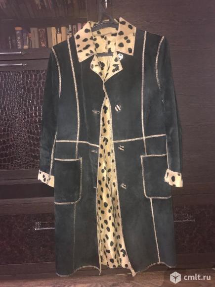 Двустороннее замшевое пальто