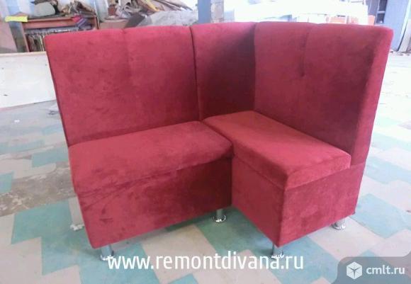 Мягкая мебель для кафе, баров, торговых центров. Фото 1.