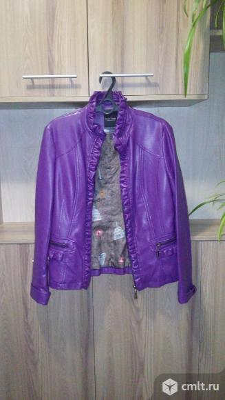 Куртка из эко-кожи. Фото 1.