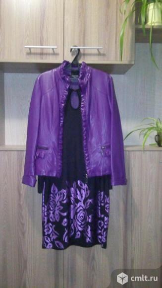 Куртка из эко-кожи. Фото 4.
