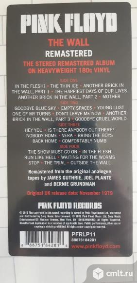 LP Pink Floyd The Wall. Фото 2.