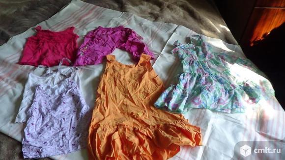 Детские вещи для девочки. Фото 1.