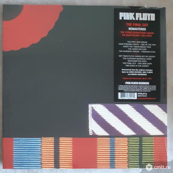 LP Pink Floyd The Final Cut. Фото 1.