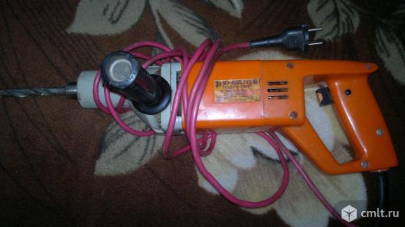 Дрель электрическая  ИЭ-1035.ЭУ2. Фото 1.