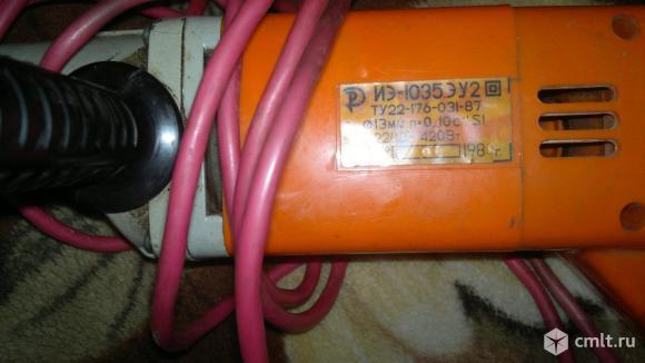 Дрель электрическая  ИЭ-1035.ЭУ2. Фото 2.