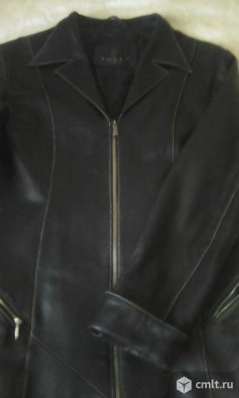 Куртка-пиджак кожаная. Фото 3.