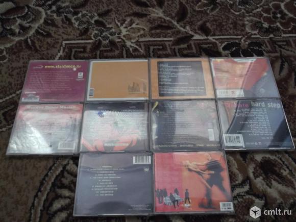 Компакт-диски с музыкой. Фото 1.