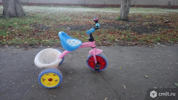 Велосипед 3-х колесный. Фото 1.