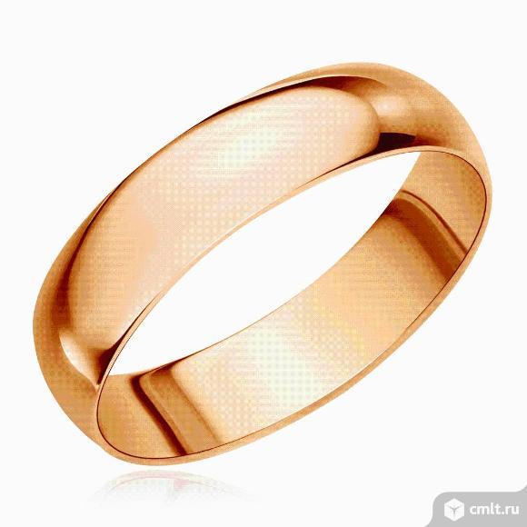Кольцо золотое. Фото 1.
