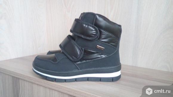 Стильные зимние ботинки(новые). Фото 1.