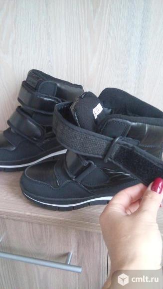 Стильные зимние ботинки(новые). Фото 7.