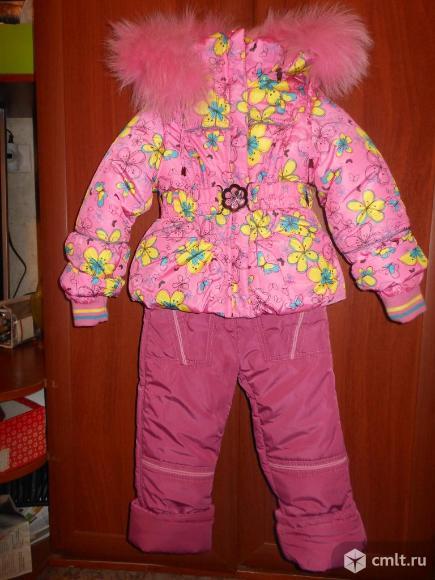 Зимний комплект на девочку. Фото 1.