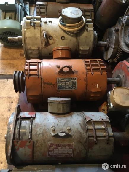 Электродвигатели постоянного тока. Фото 1.