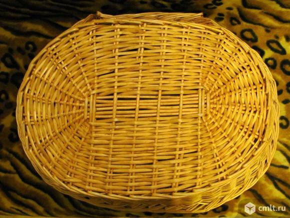 Лежанка для собачки или кошечки плетеная.. Фото 4.