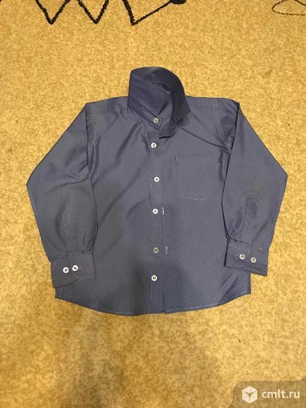 Рубашки на мальчика-школьника. Фото 1.