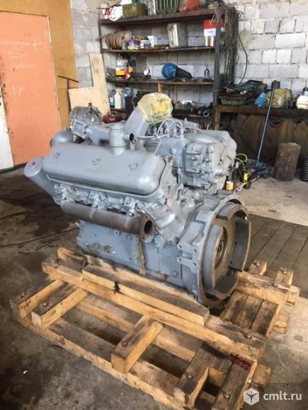 Двигатель ЯМЗ-236 после КР. Фото 1.