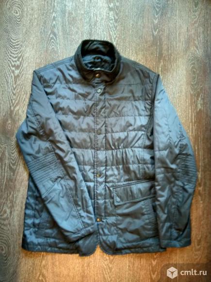 Мужская демисезонная куртка Wonderman темно-синяя. Фото 1.