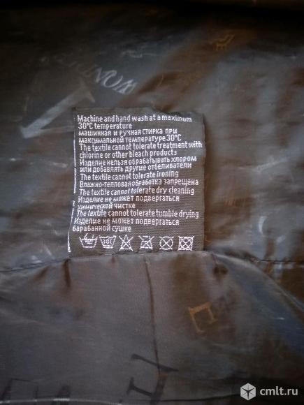 Мужская демисезонная куртка Wonderman темно-синяя. Фото 5.
