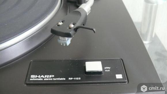 Пассик для проигрывателя винила Sharp RP-1122. Фото 1.