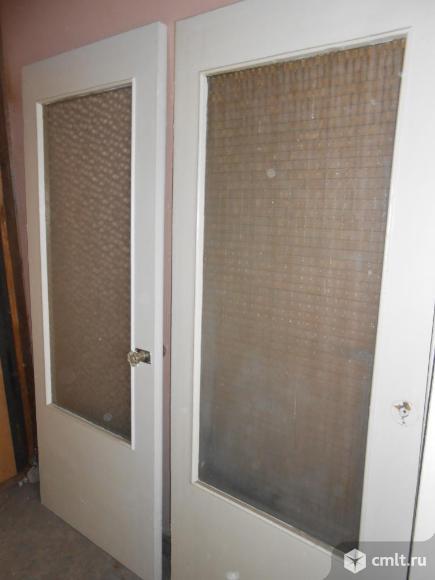 3 двери со стеклом - дверных полотна 2,0х0,8