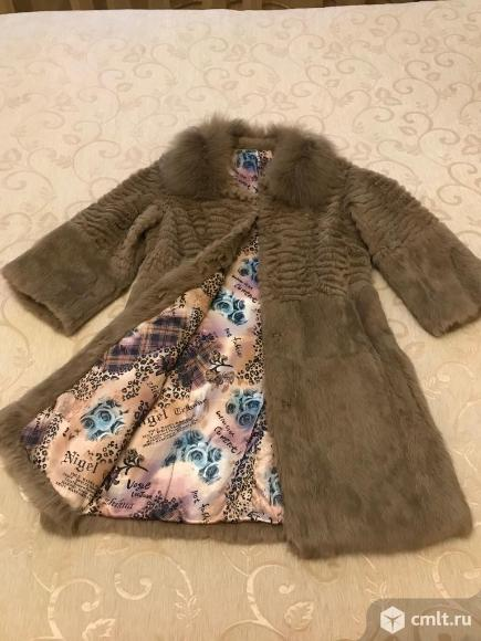 Пальто меховое. Фото 1.