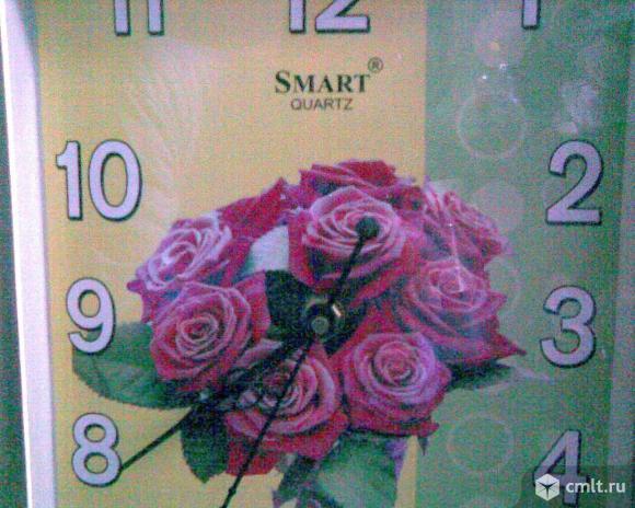 Часы настенные электронно-механические кварцевые. Фото 3.