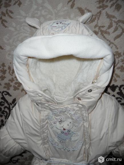 Продам комбинезон осень-зима-весна 80р. в отличном состоянии для девочки