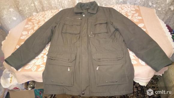 Зимняя куртка на двойном синтипоне.
