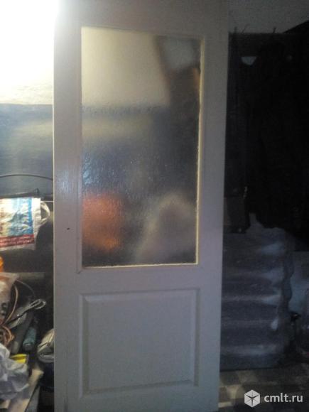 Двери от застройщика. Фото 1.