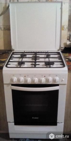 Плита комбинированная газовая с духовкой Гефест 6102-02. Фото 1.