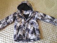 Куртка осенне-весенне-зимняя до -10 С для мальчика 134 размера. Состояние отличное.