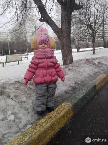 Зимняя куртка с полукомбинезоном.