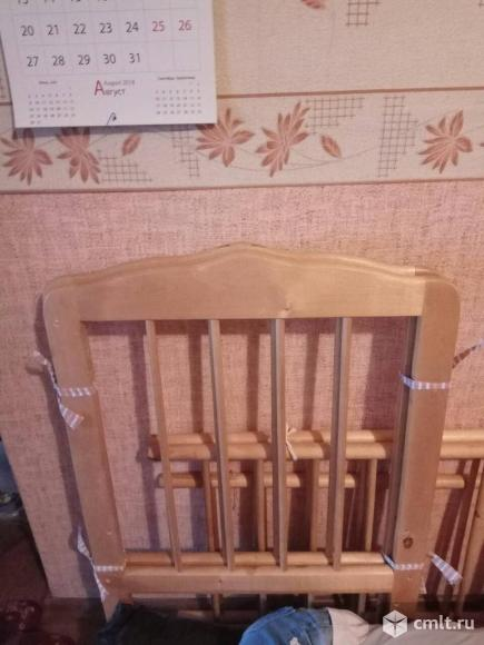 Детская кроватка. Фото 2.
