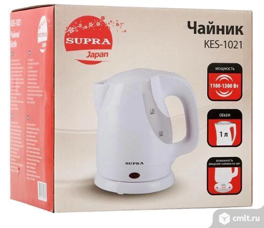 Новый, компактный электрочайник Supra KES-1021