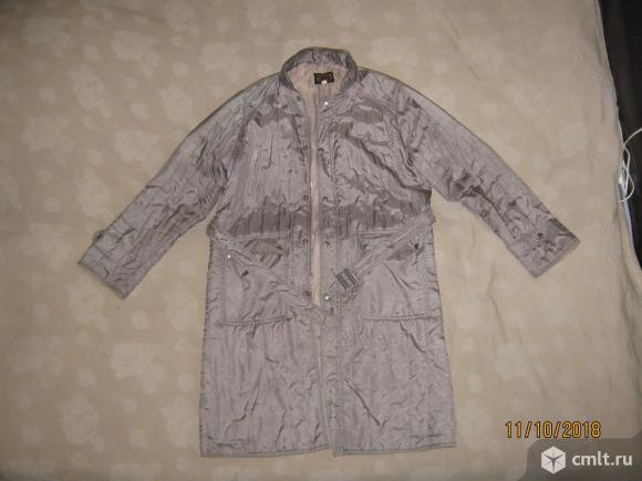 Мужское нейлоновое пальто на синтепоне Supreme,. Фото 1.