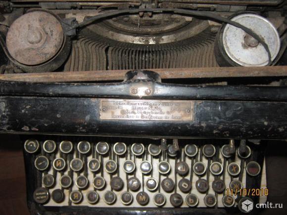 Редкая немецкая печатная машинка Erika .. Фото 6.