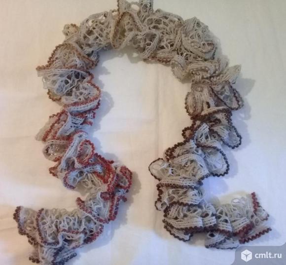 Ажурные шарфики. Фото 9.