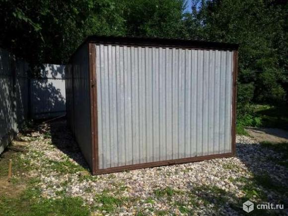 Металлический гараж 14 кв. м Авиатор. Фото 1.