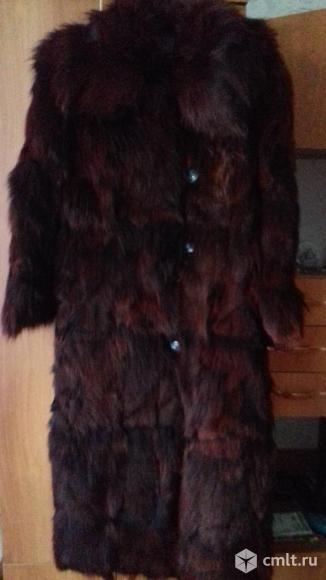 Женская зимняя натуральная шуба. Фото 1.