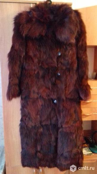 Женская зимняя натуральная шуба. Фото 3.