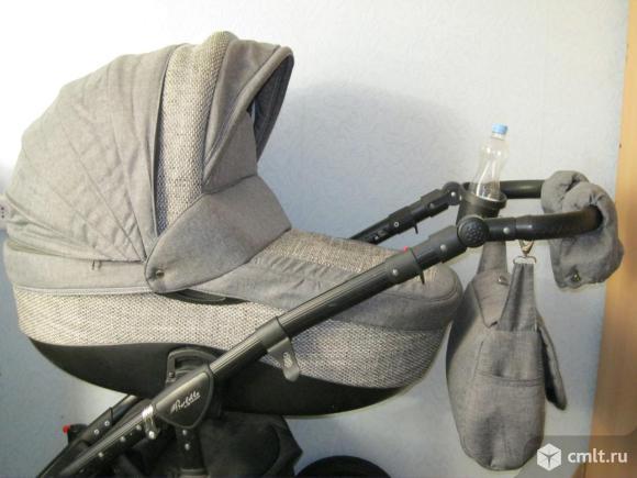 Польская детская коляска Adamex Barletta 3в1