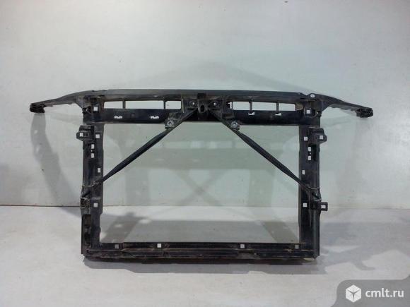Панель передняя телевизор SKODA OCTAVIA A7 13- б/у 5EU805588B 2*. Фото 1.