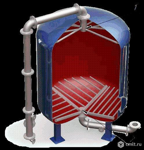 Дренажные системы (ДРУ) щелевого типа для фильтров ФИПа, ФОВ, ФСУ, колпачки щелевые. Фото 1.