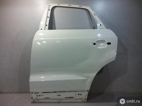 Дверь задняя левая AUDI Q3 12- б/у 8U0833051B 3*. Фото 1.