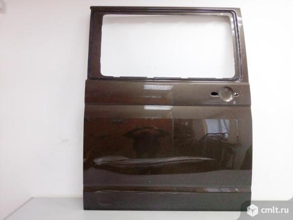Дверь правая сдвижная под стекло VOLKSWAGEN TRANSPORTER T6 / CARAVELLE / MULTIVAN 15-  б/у 7E0843108. Фото 1.