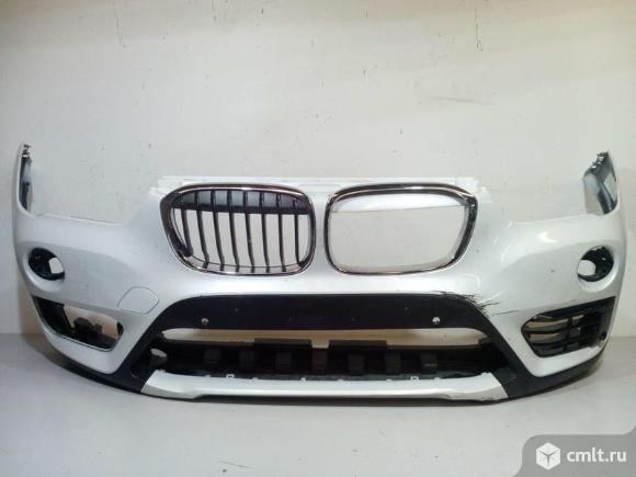 Бампер передний в сборе BMW X1 F48 15- б/у 51117453562 51117453979 51117425977 51117354816 511373548. Фото 1.